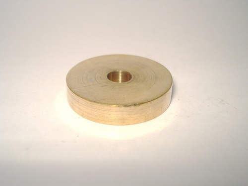 Brass Press Round Nut