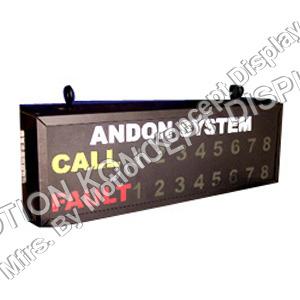 LED Andon Display Boards
