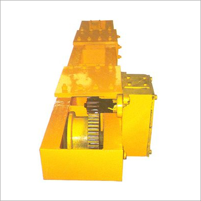 Crane End Carriage With Geared Motor