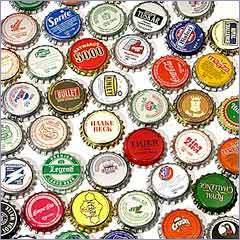 Soda Bottle Crown Caps