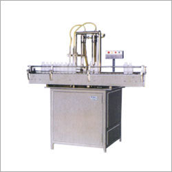 Automatic Twin Head Liquid Bottle Filling Machine