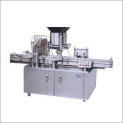 Semi Automatic Twin Head Liquid Filling Machine