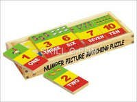 Number Picture Matching Puzzle