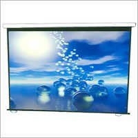 Ceiling Mounted Projector Screen