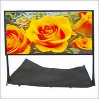 Rear Projection Glass Screen