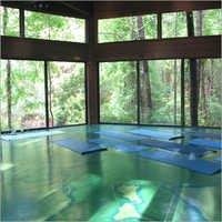 Frameless Glass Partition System