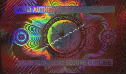 ID CARD Holographic Overlay (Flying Bird Valid )