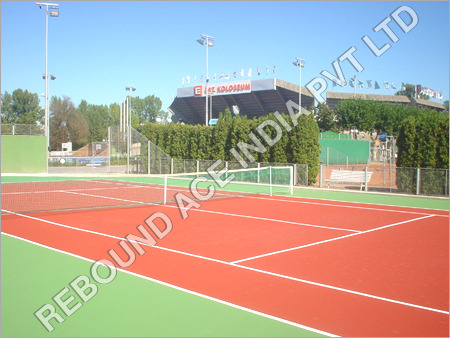 Synthetic Sport Ground Flooring