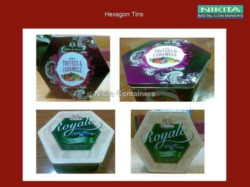Hexagon Tins