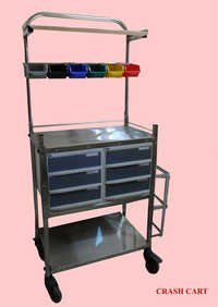 Hospital Crash Cart Trolley