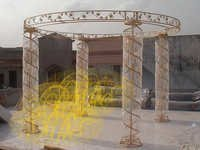 Fabrication Crystal Mandap