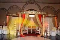 CUT WORK CARVED MANDAP