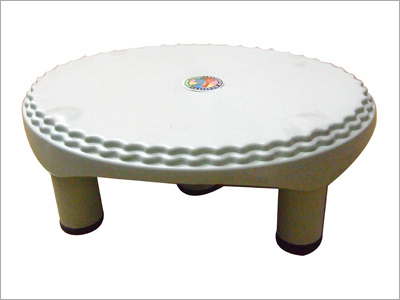 Big Oval Plastic Stool