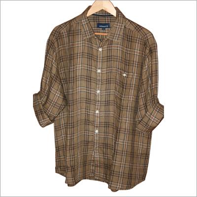 100% Linen Yarn Dyed Shirt Fabrics