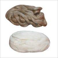 100% Linen Sliver Top for Wool Blend