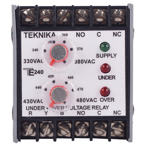 Under Plus Over Voltage Relay
