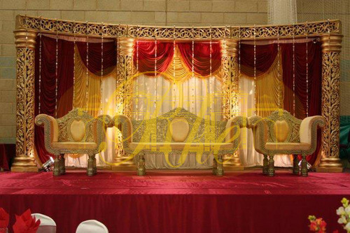 Carved Wedding Mandap