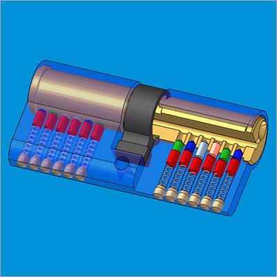 Cylinder Pin Lock