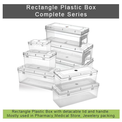 Clear Plastic Box - Complete Series