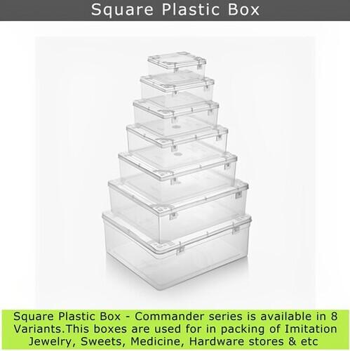 Square Plastic Box