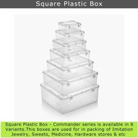 Square Plastic Box