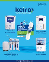 KEIRO ALKALINE RO MACHINE