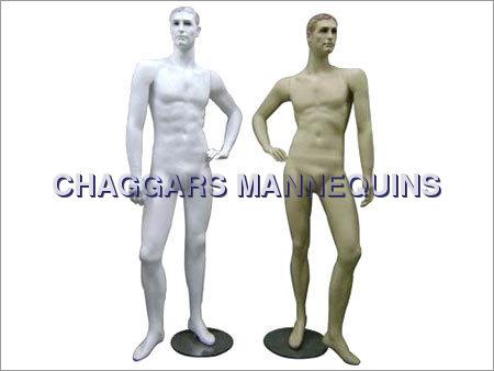 Male Face Mannequins