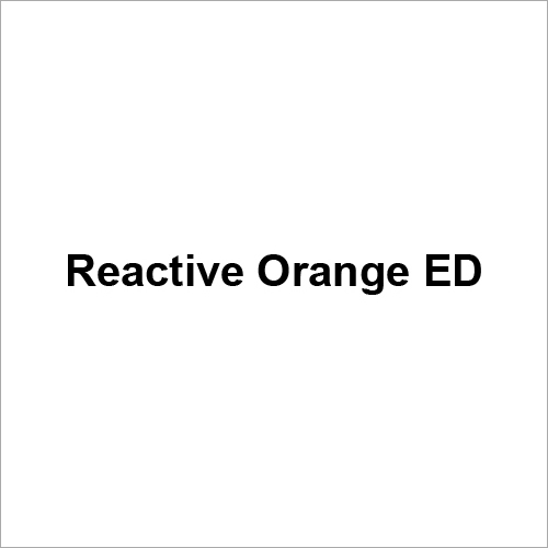 Reactive Orange ED Dyes
