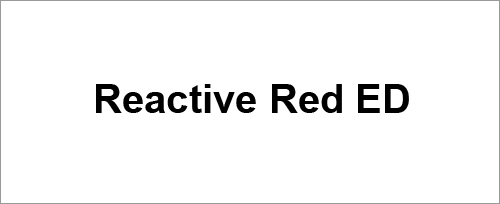 Reactive Red ED Dyes