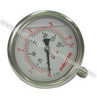 SS Pressure Gauge Glycerin Filled