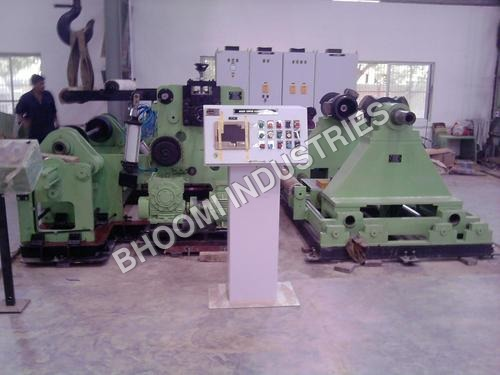 Aluminum Foil Stock Rewinder Machine