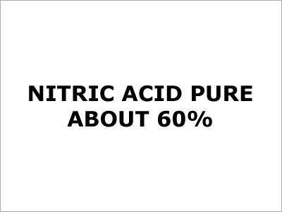 Nitric Acid (Pure About 60%)