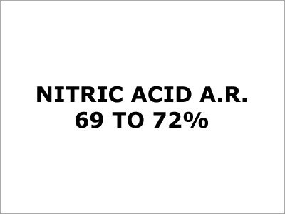 Nitric Acid (A.R.69 To 72.0%)