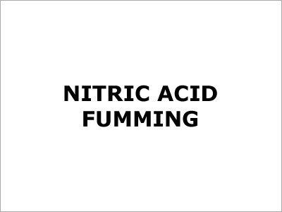 Nitric Acid Fumming