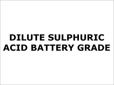 Battery Grade Sulfuric Acid