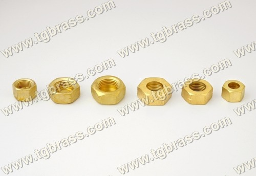 Brass Hex Nuts & Stop Ends