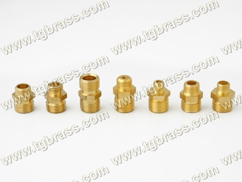 Brass Straight Coupling Adapters (Male To Male)