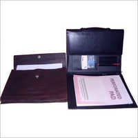 A4  Size Office Document Leather Folder