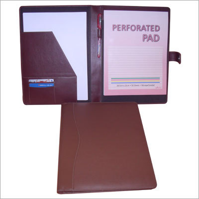 A4 Size Conference Leather Folder