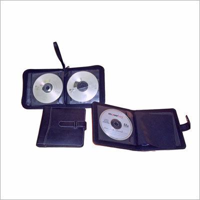Leather CD Folder
