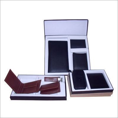 Leather Sets 2 & 3 Pieces for Wallet Keychain