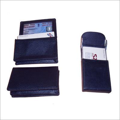 Leather Visiting Card Folder