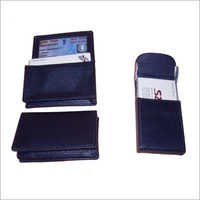 Leather Visiting Card Folder