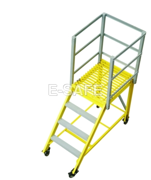 Frp Maintenance Trolley Ladder