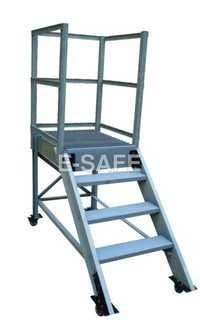Heavy Duty Maintenance Trolley Ladder