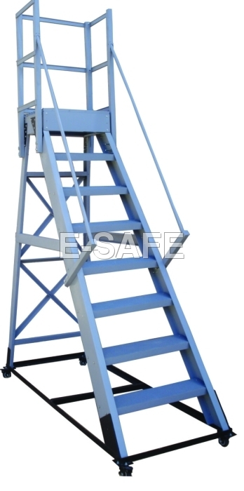 Heavy Duty Platform Trolley Ladder