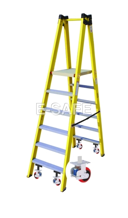 Double Side Platform Step Ladder
