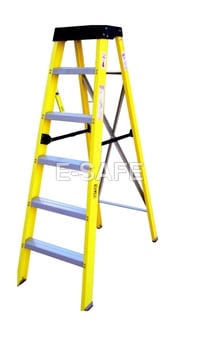 Self Support Single Step Ladder