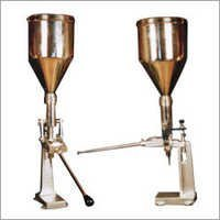 Hand Operated Paste Cream Tube Filling Machine