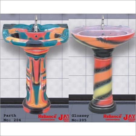 Multi Colour Wash Basin
